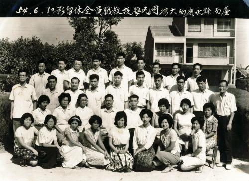 55學年度(22屆)教職員合照