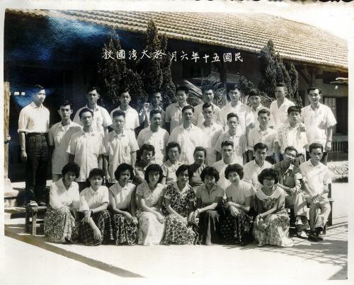 49學年度(16屆)教職員合照